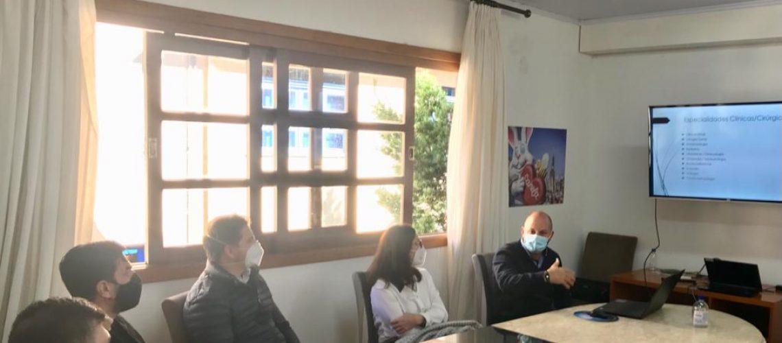 Reunião Fundação UCS e HCC